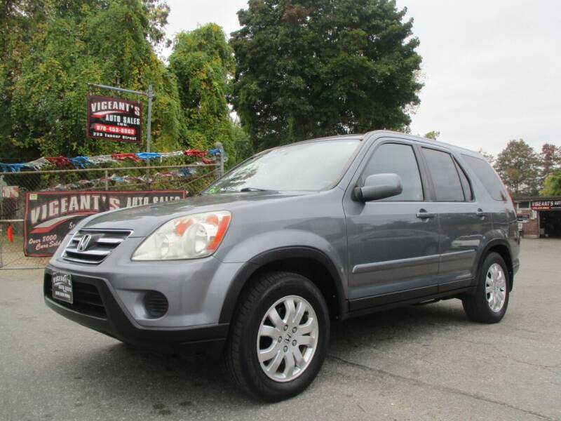 2006 Honda CR-V for sale at Vigeants Auto Sales Inc in Lowell MA
