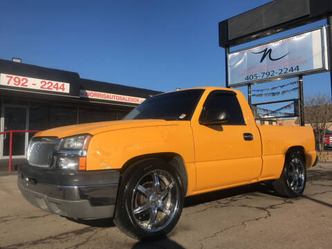 2004 Chevrolet Silverado 1500 for sale at NORRIS AUTO SALES in Oklahoma City OK
