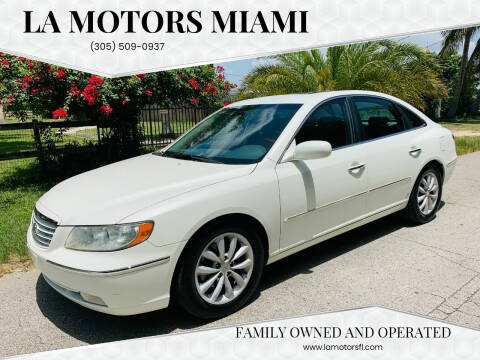 2006 Hyundai Azera for sale at LA Motors Miami in Miami FL