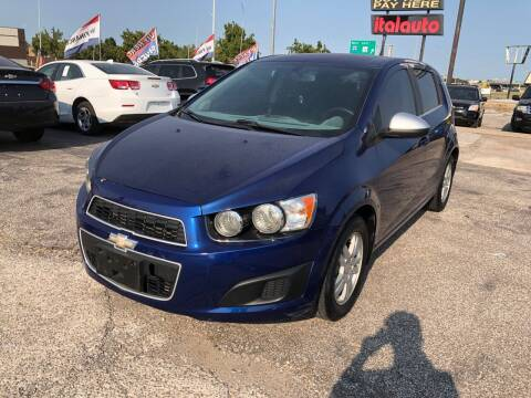 2014 Chevrolet Sonic for sale at Ital Auto in Oklahoma City OK