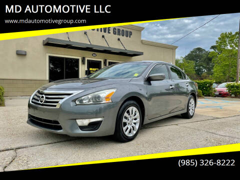 2014 Nissan Altima for sale at MD AUTOMOTIVE LLC in Slidell LA