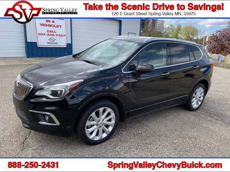 2018 Buick Envision for sale at Spring Valley Chevrolet Buick in Spring Valley MN