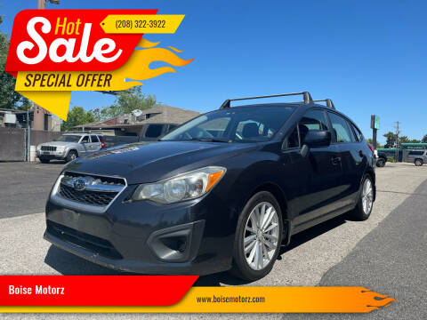 2012 Subaru Impreza for sale at Boise Motorz in Boise ID