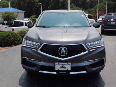 2020 Acura MDX for sale at Auto Finance of Raleigh in Raleigh NC