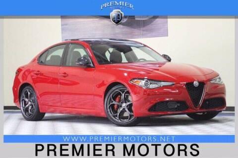 2018 Alfa Romeo Giulia for sale at Premier Motors in Hayward CA