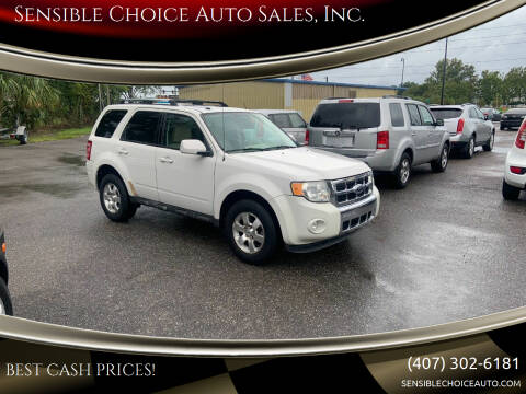 2010 Ford Escape for sale at Sensible Choice Auto Sales, Inc. in Longwood FL