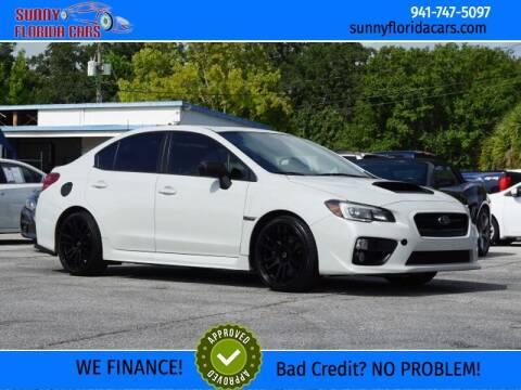 2015 Subaru WRX for sale at Sunny Florida Cars in Bradenton FL