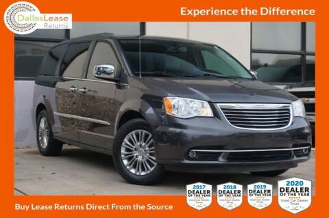 2015 Chrysler Town and Country for sale at Dallas Auto Finance in Dallas TX