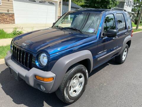 2003 Jeep Liberty for sale at Jordan Auto Group in Paterson NJ