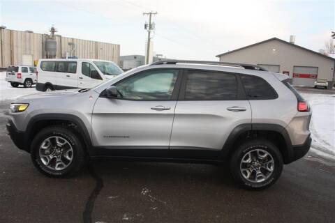 2019 Jeep Cherokee for sale at SCHMITZ MOTOR CO INC in Perham MN