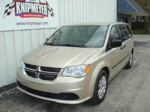 2014 Dodge Grand Caravan for sale at Team Knipmeyer in Beardstown IL