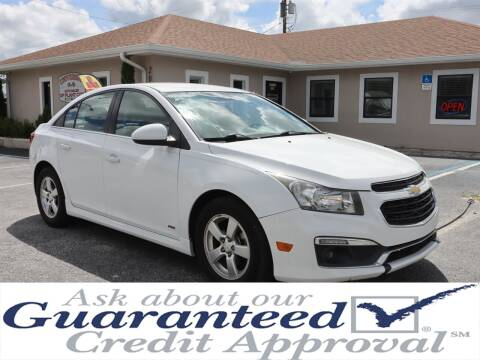 2015 Chevrolet Cruze for sale at Universal Auto Sales in Plant City FL