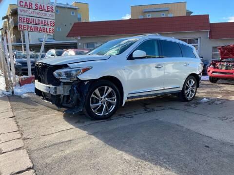 2015 Infiniti QX60 for sale at STS Automotive in Denver CO