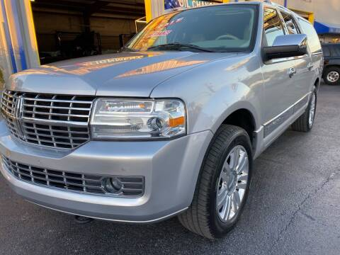 2012 Lincoln Navigator L for sale at RoMicco Cars and Trucks in Tampa FL