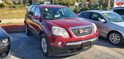 2008 GMC Acadia for sale at Falmouth Auto Center in East Falmouth MA