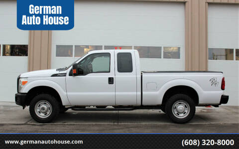2012 Ford F-250 Super Duty for sale at German Auto House in Fitchburg WI