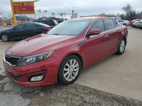 2014 Kia Optima for sale at Nile Auto in Fort Worth TX