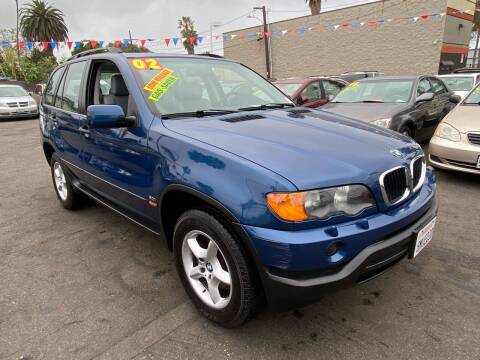 2002 BMW X5 for sale at North County Auto in Oceanside CA
