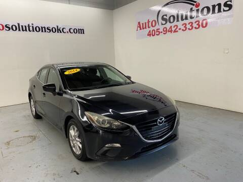 2014 Mazda MAZDA3 for sale at Auto Solutions in Warr Acres OK