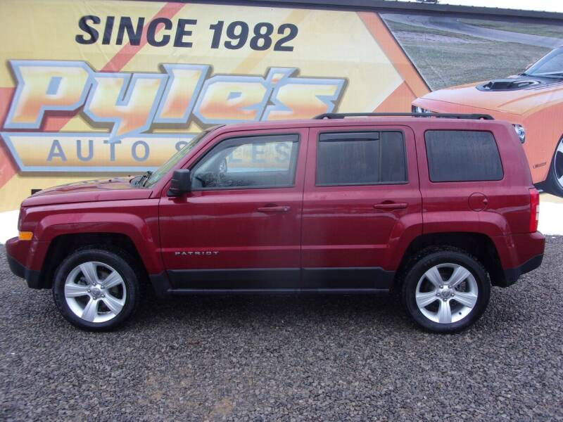 2015 Jeep Patriot for sale at Pyles Auto Sales in Kittanning PA