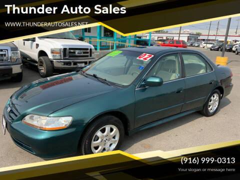 2002 Honda Accord for sale at Thunder Auto Sales in Sacramento CA