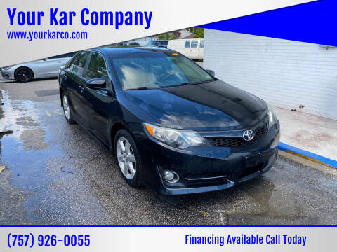 2013 Toyota Camry for sale at Your Kar Company in Norfolk VA
