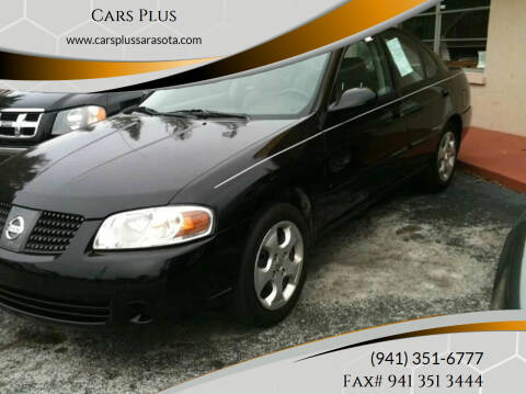 2005 Nissan Sentra for sale at Cars Plus in Sarasota FL