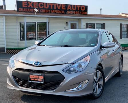 2012 Hyundai Sonata Hybrid for sale at Executive Auto in Winchester VA