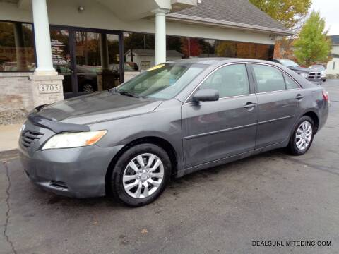 2007 Toyota Camry for sale at DEALS UNLIMITED INC in Portage MI