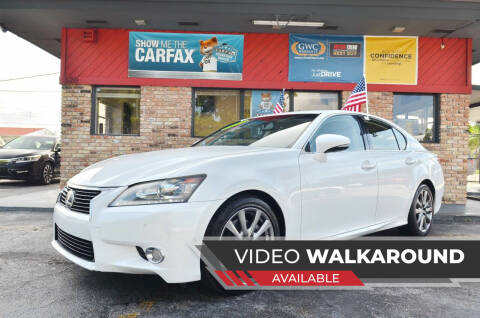 2014 Lexus GS 350 for sale at ALWAYSSOLD123 INC in North Miami Beach FL