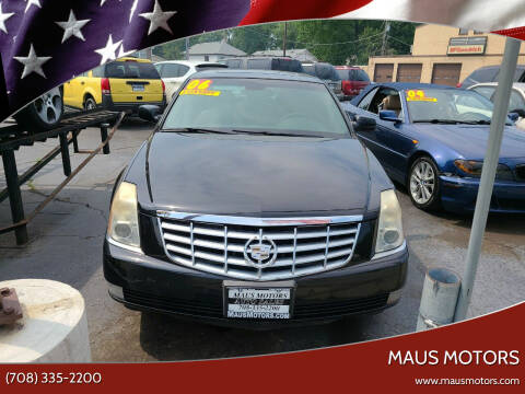 2006 Cadillac DTS for sale at MAUS MOTORS in Hazel Crest IL