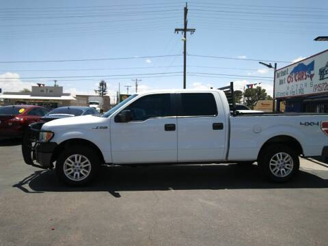 2011 Ford F-150 for sale at Os'Cars Motors in El Paso TX