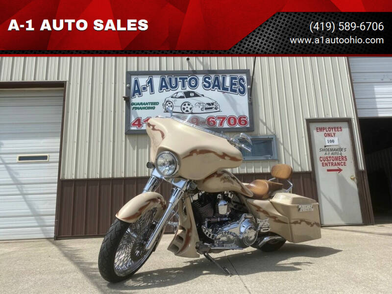 2013 CUSTOM BAGGER HARLEY DAVIDSON for sale at A-1 AUTO SALES in Mansfield OH