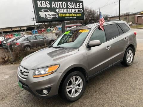 2011 Hyundai Santa Fe for sale at KBS Auto Sales in Cincinnati OH
