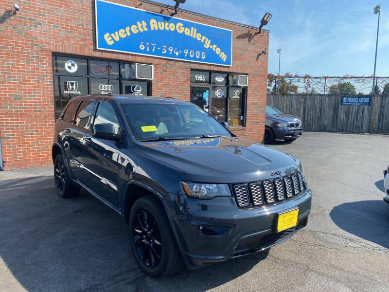 2018 Jeep Grand Cherokee for sale at Everett Auto Gallery in Everett MA