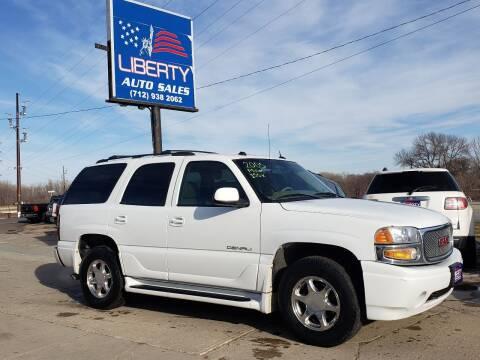 2005 GMC Yukon for sale at Liberty Auto Sales in Merrill IA