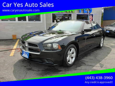 2012 Dodge Charger for sale at Car Yes Auto Sales in Baltimore MD