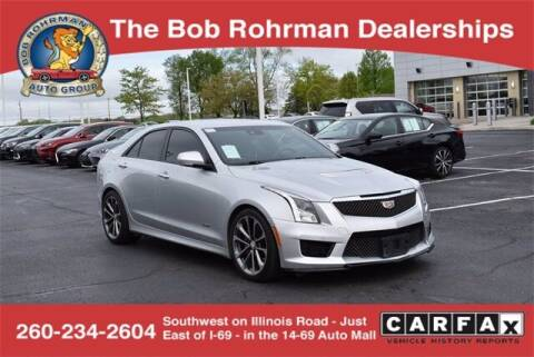 2016 Cadillac ATS-V for sale at BOB ROHRMAN FORT WAYNE TOYOTA in Fort Wayne IN