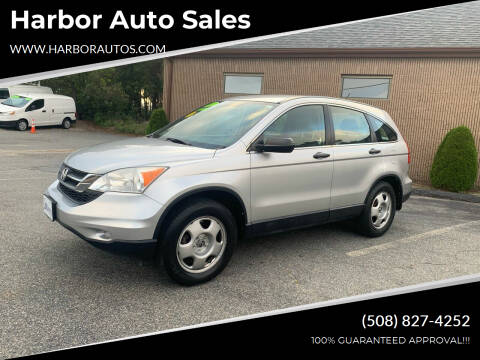 2011 Honda CR-V for sale at Harbor Auto Sales in Hyannis MA