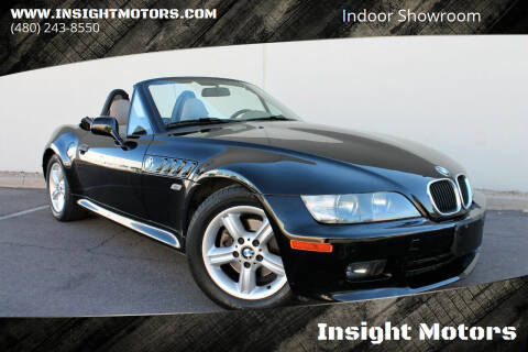 2000 BMW Z3 for sale at Insight Motors in Tempe AZ