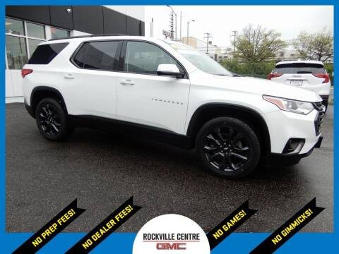 2018 Chevrolet Traverse for sale at Rockville Centre GMC in Rockville Centre NY