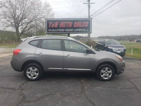 2015 Nissan Rogue Select for sale at T & G Auto Sales in Florence AL