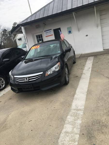 2011 Honda Accord for sale at Mocks Auto in Kernersville NC