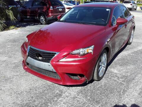 2015 Lexus IS 250 for sale at YOUR BEST DRIVE in Oakland Park FL