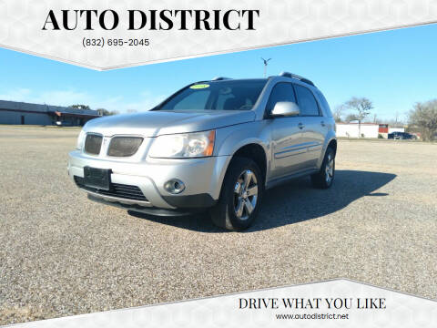2008 Pontiac Torrent for sale at Auto District in Baytown TX