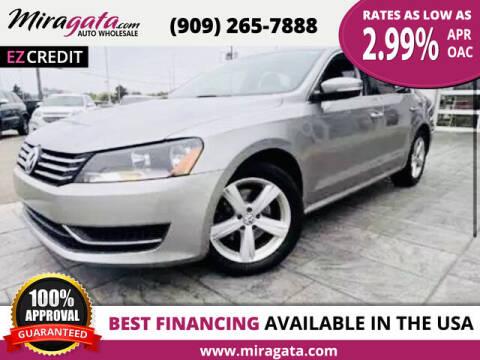 2013 Volkswagen Passat for sale at Miragata Auto in Bloomington CA