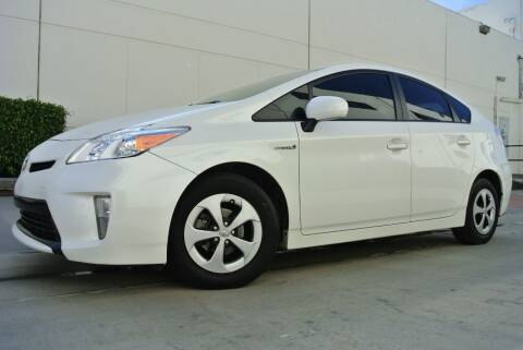 2012 Toyota Prius for sale at New City Auto - Retail Inventory in South El Monte CA