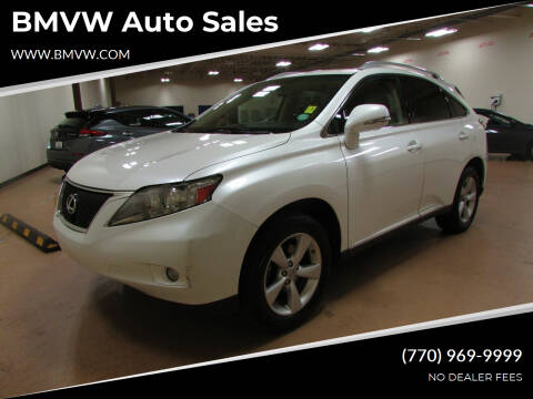 2010 Lexus RX 350 for sale at BMVW Auto Sales in Union City GA