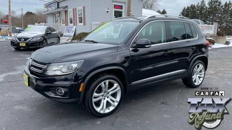 2016 Volkswagen Tiguan for sale at RBT Automotive LLC in Perry OH
