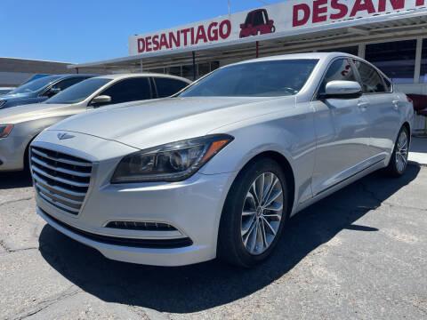 2015 Hyundai Genesis for sale at DESANTIAGO AUTO SALES in Yuma AZ